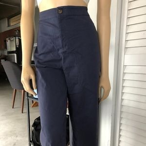 Pants - CUTE NAVY SAILOR PANTS NO POCKETS